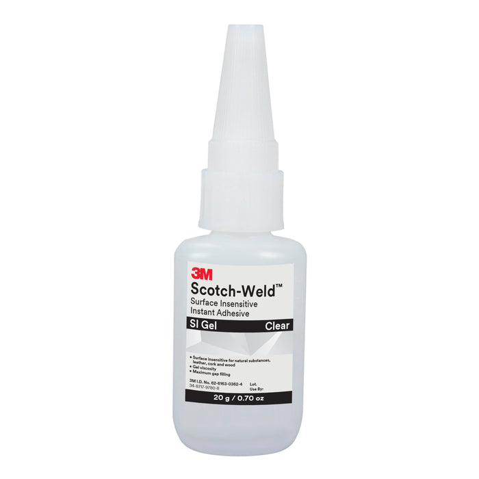 Instant Adhesives 3M SI GEL - 20G Scotch-Weld Surface insensitive in