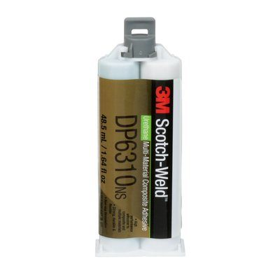 Urethane Adhesives 3M DP6310-48.5ML Scotch-Weld Composite Urethane Adhesive Dp6310Ns Green 48.5 ml Duo-Pak