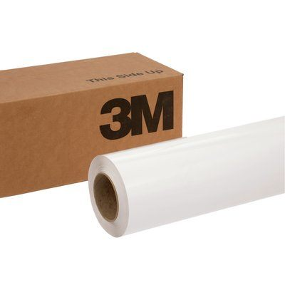 8519-60X50 Scotchcal Luster Overlaminate 8519 60 in x 50 Yd (1.5 m x 45.7 m)