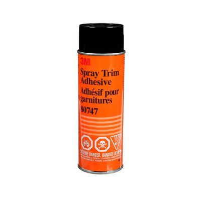 Trim Adhesives 3M 80747 Spray Trim Adhesive Low Mist 17 Oz (48 G)