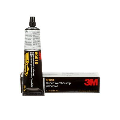 80010 Super Weatherstrip Adhesive Yellow 5 Oz (150 ml)