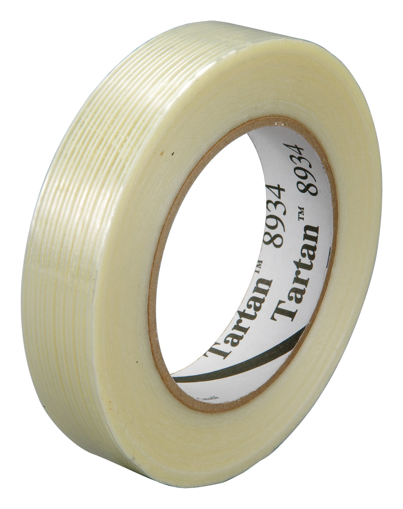 Filament Tapes 3M 051115-55832 Tartan Filament Tape 8934 Kut 768mm x 165m