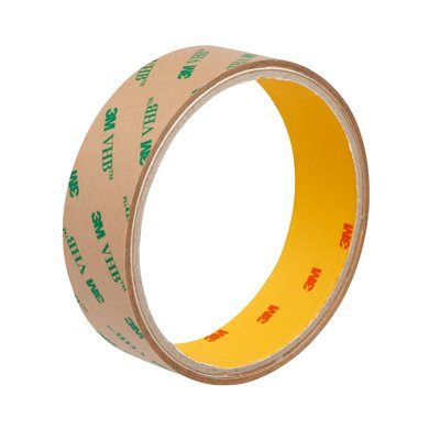 F94960PC-25X55 VHB Adhesive Transfer Tape F9460PC Clear 2 mil 1 in x 6 Yards (2.54 cm x 55 m) 3M 7000115592