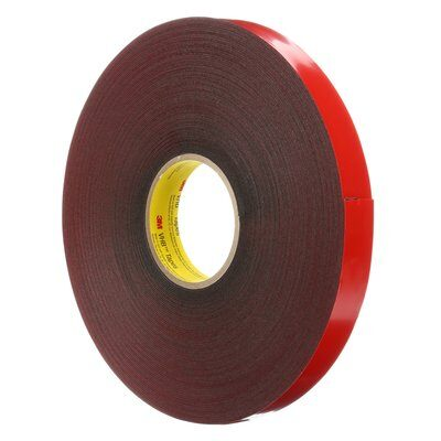 VHB Tapes 3M 4611-1/2X72 VHB Tape 4611 Grey 1/2 Inch x 72yds