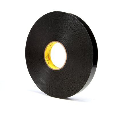 VHB Tapes 3M 4949-1/2X36SP VHB Tape 4949 Black 1/2 Inch x 36yds 45.0mil