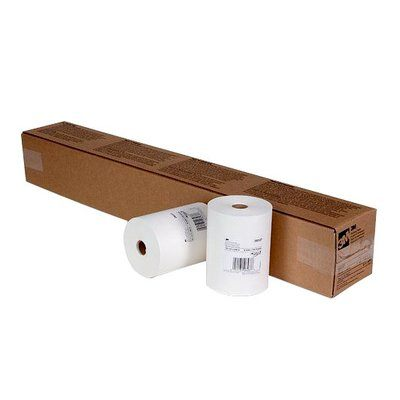 PN06537 White Masking Paper 06537 6 in x 750 Ft (152.4 mm x 228.6 m)