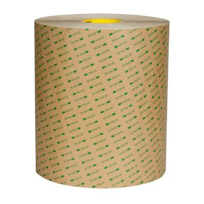 Double Sided Tapes 3M 93020LE-1X60 Double Coated Tape 93020LE Clear 8 mil 1 Inch x 60yds (2cm x 55m)