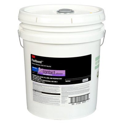 Contact Adhesives 3M 2000NF-5G-NEU-PAIL Fastbond Contact Adhesive 5 Gallon