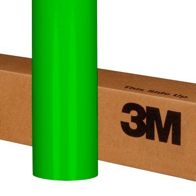Translucent Graphic Film 3M 3630-136-48X10 Scotchcal Translucent Graphic Film 3630-136 Lime Green 48 Inch x 10yds