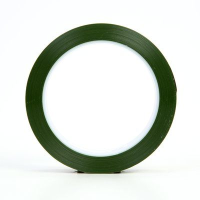 Splicing Tapes 3M 8402-1X72 Polyester Tape 8402 Green 1 Inch x 72yds