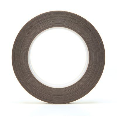 Glass Tapes 3M 5453-3/4X36 PTFE Glass Cloth Tape 5453 Brown 3/4 Inch x 36yds 8.3 mil