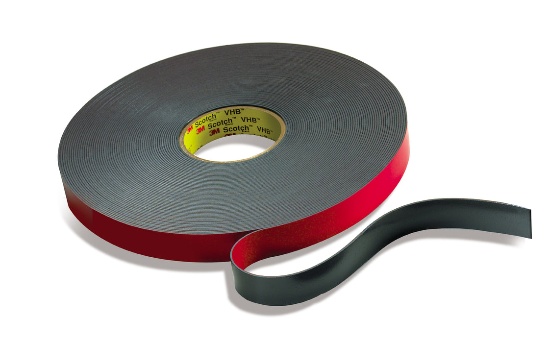 VHB Tapes 3M 5958 12INX72YD VHB Flame Retardant Tape 5958FR Black 12 x 72yds 40.0 mil