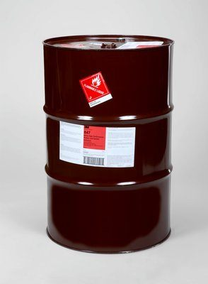 Rubber & Gasket Adhesives 3M 847-54GAL Scotch-Weld Nitrile High Performance Rubber & Gasket Adhesive Brown 55 Gallon