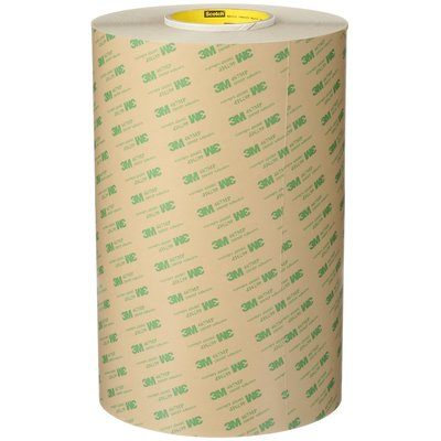 Transfer Tapes 3M 467MP-12X180 Adhesive Transfer Tape 467MP Clear 2.0 mil 12 Inch x 180 Yd (30.1 cm x 165 m)