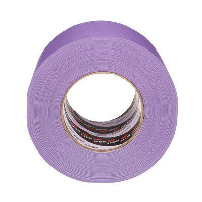 501+-100X55-PU Specialty High Temperature Masking Tape 501+ Purple 100 mm x 55 M
