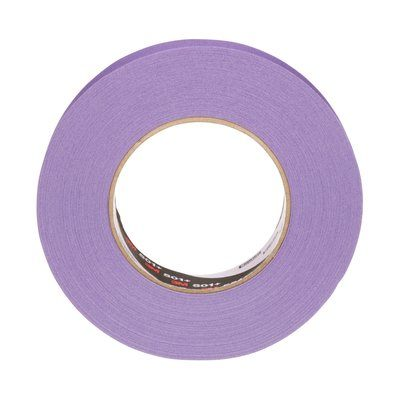 Specialty High Temp Masking Tapes 3M 501+-24X55-PU Specialty High Temperature Masking Tape 501+ Purple 24mm x 55m