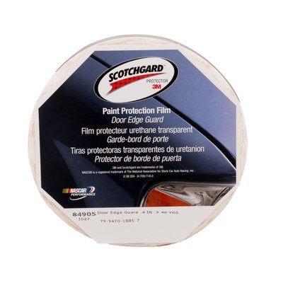 Protection Film 3M 849-05 Scotchgard Paint Protection Film Door Edge Guard 84905 SGH6 Strip Transparent 0.4 x 40yds (1 cm x 36.6 cm)
