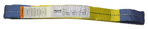 Tuff Grade TGWS0310 Web Sling 3 X 10' Type 3 Double Eye 2 Ply