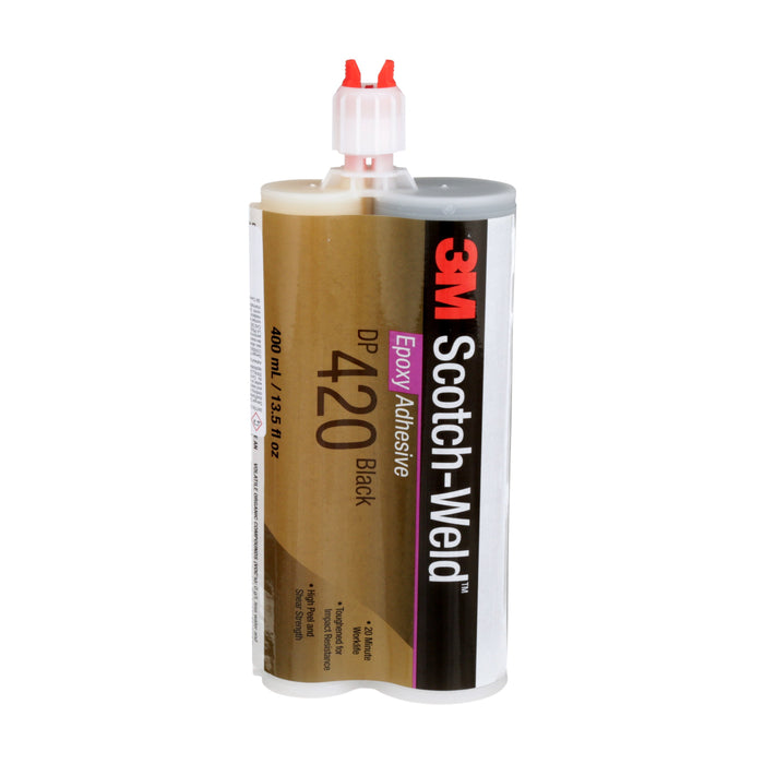 Epoxy 2 Part 3M DP420-400ML-BLK Dp420 Epoxy Adhesive Black 400 ml Duo-Pak 6 Per Pack