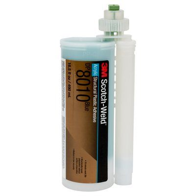 Structural Adhesives 3M DP8010-490ML Scotch-Weld Structural Plastic Adhesive Dp8010 Blue 490 ml Duo-Pak