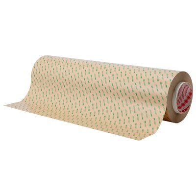 Transfer Tapes 3M F9465PC-24X180 Adhesive Transfer Tape F9465PC Clear 24 Inch x 180yds 5.0 mil