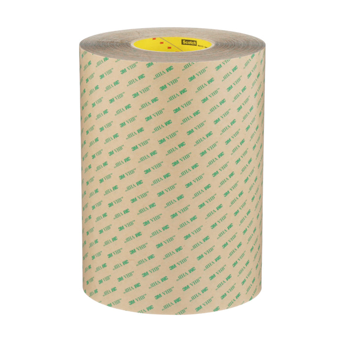 F9473PC-248X54.864 Vhb Adhesive Transfer Tape F9473Pc Clear 10 Mil 9-7/8 in x 6 Yards (25 cm x 55 m)
