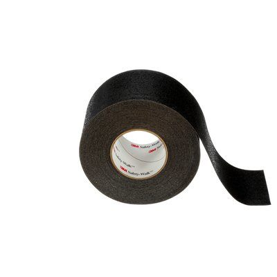 Safety Tapes 3M F-510-BLK-4X60 Safety-Walk Slip-Resistant Conformable Tapes and Treads 510 Black 4 Inch x 60' Roll