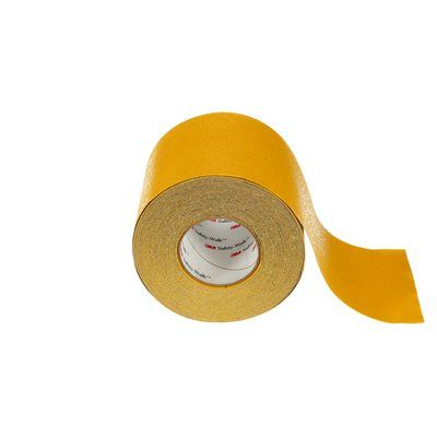 Safety Tapes 3M F-530-SYL-6X60 Safety-Walk Slip-Resistant Conformable Tapes and Treads 530 Safety Yellow 6 Inch x 60' Roll