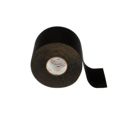 Safety Tapes 3M F-310-BLK-6X60 Safety-Walk Slip-Resistant Medium Resilient Tapes and Treads 310 Black 6 Inch x 60'
