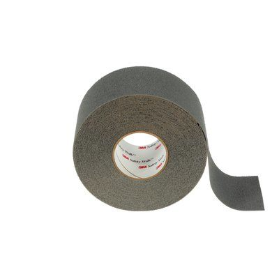 Safety Tapes 3M F-370-GRY-4X60 Safety-Walk Slip-Resistant Medium Resilient Tapes and Treads 370 Gray 4 Inch x 60' Roll
