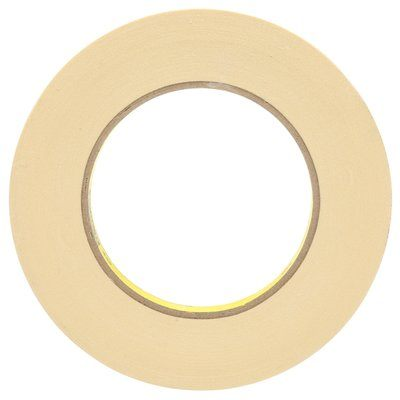232-18X55 Scotch High Performance Masking Tape 232 Tan 18 MM X 55 M 6.3 MIL 4 Per Case Bulk 3M 7000048942