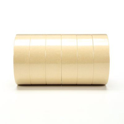 2308-36X55-BULK Scotch Masking Tape 2308 Tan 36 mm x 55 m  Bulk