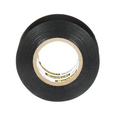 Electrical Tapes 3M SUPER88-3/4X20 Scotch Professional Grade Heavy Duty Vinyl Electrical Tape Super 88 Black 8.5mil (0.22 mm) 3/4 Inch x 20' (19 mm x 61 m)