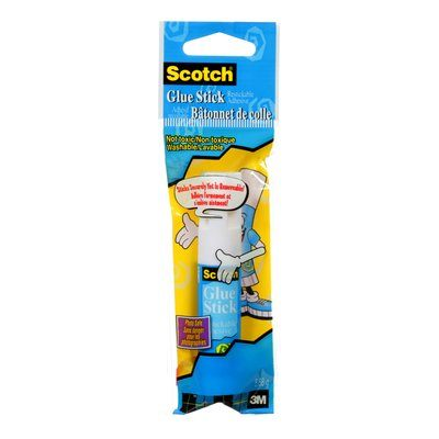 Glue Sticks 3M 6307C Scotch Restickable Glue Stick 5.9 ml (.20 Oz)