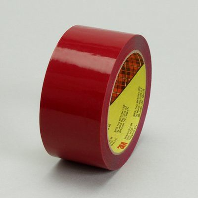 Packaging Tapes 3M 373-36X50-RED Packaging Tape 373 Red-High Perfromance 36mm x 50m