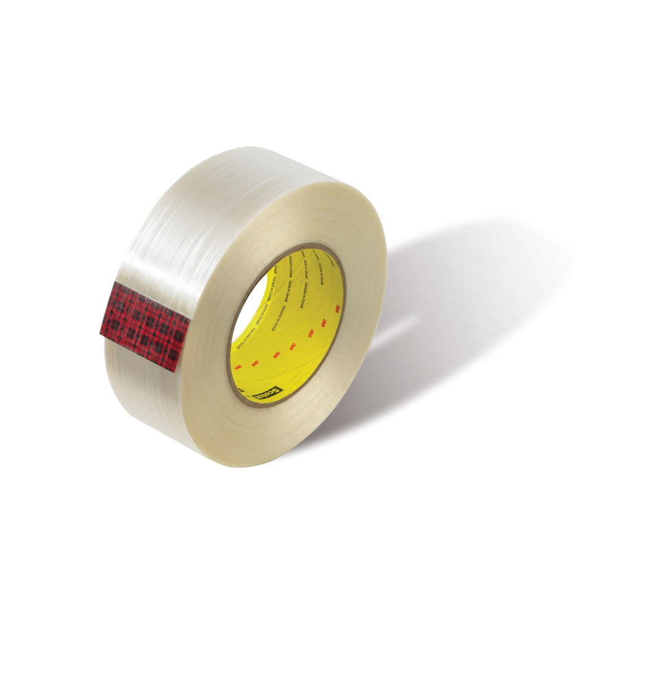 Filament Tapes 3M 880MSR-24X55 Scotch Filament Tape 880MSR Clear 24mm x 55m