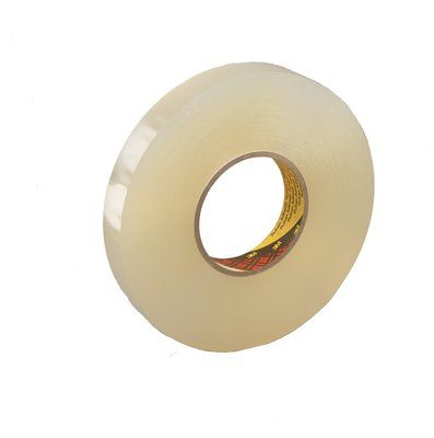 Double Sided Tapes 3M 4658F-1X27 Double Coated Removable FoamTape 4658F Clear 1 Inch x 27yds 1/32 Inch