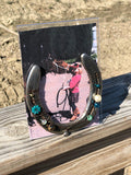 Beaded Horseshoe Picture Frame Kit