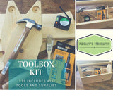 Kids Toolbox Kit + Real Toolset