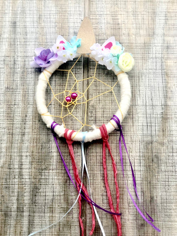 Unicorn Dream Catcher Kit