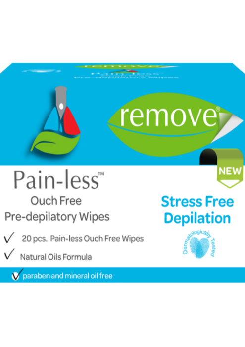 Pre Wax Preparation Wipe Pain LESS-Pre Depilatory Products-Remove-COSMEXP