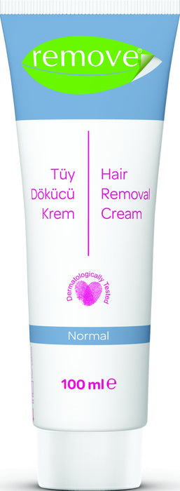 Remove Soft Smooth Hair Removal Depilatory Cream Sensitive and Normal Skin 100 ml-Hair Removal Cream-Remove-COSMEXP