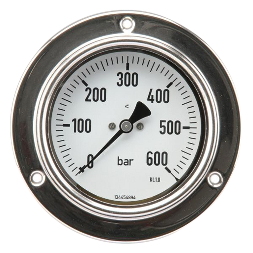 Manometer 100mm 0-600bar AA 1/2""