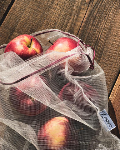 FRUSACK COMPOSTABLE AND REUSABLE FRUIT AND VEGETABLE BAGS