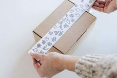 WoodRuff paper water based packing tape