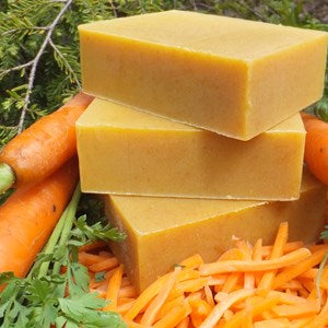 Carrot Honey Organic Soap Bar