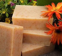Chamomile Calendula natural soap bars