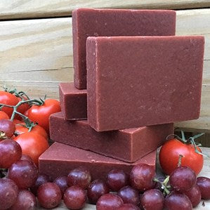 Grape Seed Tomatoes Organic Soap Bar