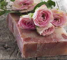 Rose Natural soap bar
