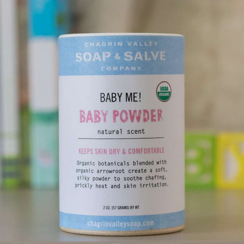 Organic unscented Baby powder